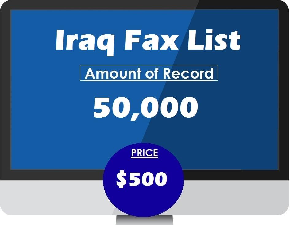 Buy Iraq Fax List