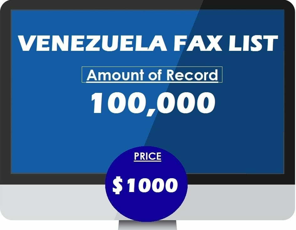 Buy VENEZUELA FAX LIST