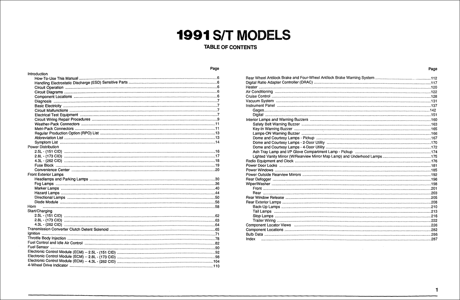 Gmc S15 Sonoma Pickup Amp Jimmy Wiring Diagram Manual