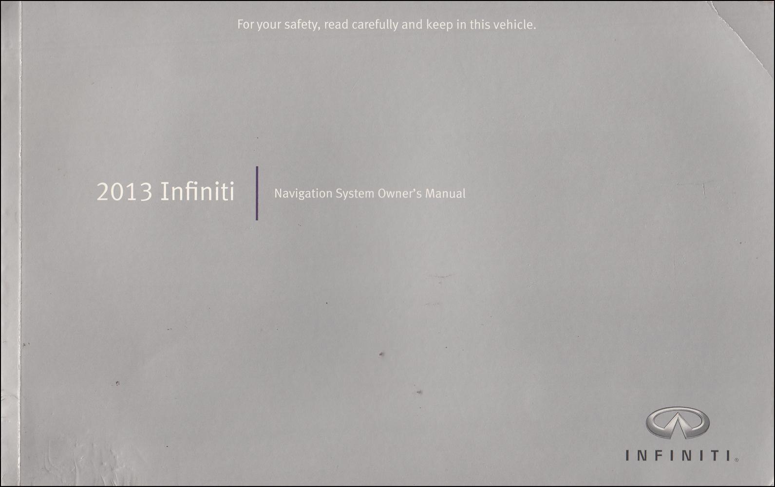 Infiniti G37 Coupe Amp Sedan Owner S Manual Original