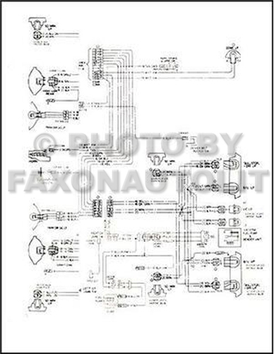 1974 corvette wiring diagram pdf