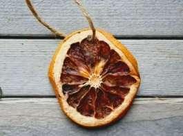 Portakal dilimi nasıl kurutulur?