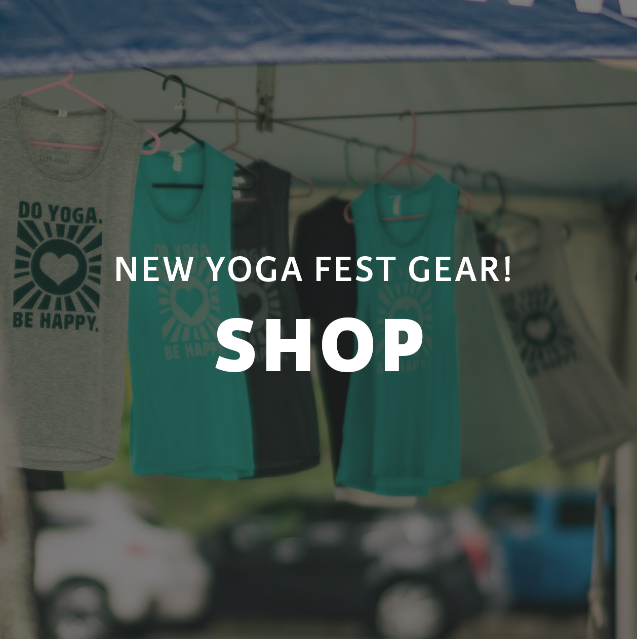 Shop new yoga fest gear from Fayetteville Yoga Fest in Northwest Arkansas