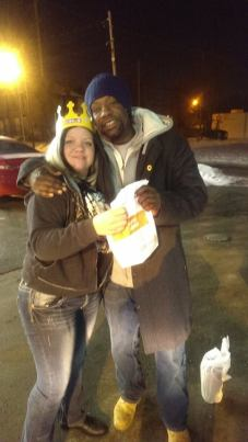 ...And that's the same Juggalette sharing snacks with the homeless on a cold night.