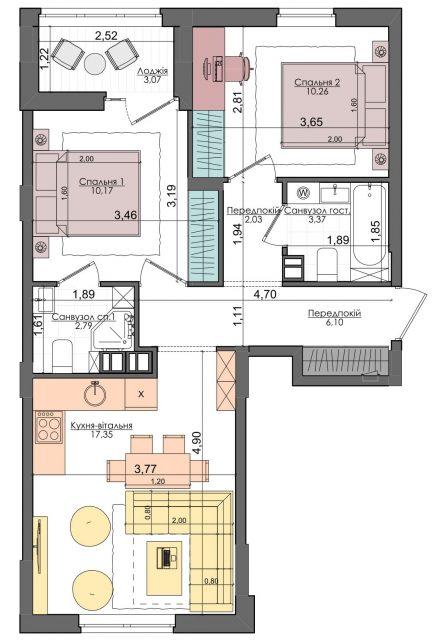 «Ощадбанк» предлагает кредит на покупку квартир в «Файна Таун» – от 8,9% годовых в гривне
