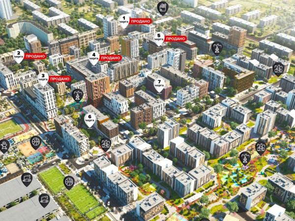 Начались продажи квартир в 8-й очереди «Файна Таун»