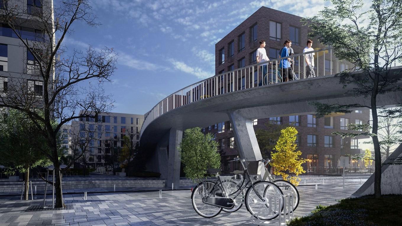 В «Файна Таун» будут мосты на променаде: какие и где