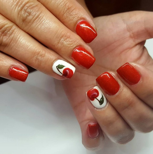 cherry nails 11