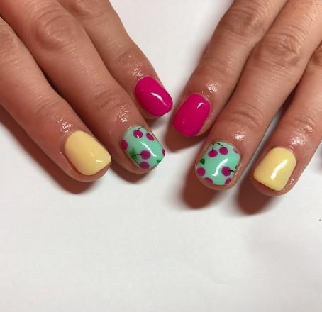 cherry nails 7