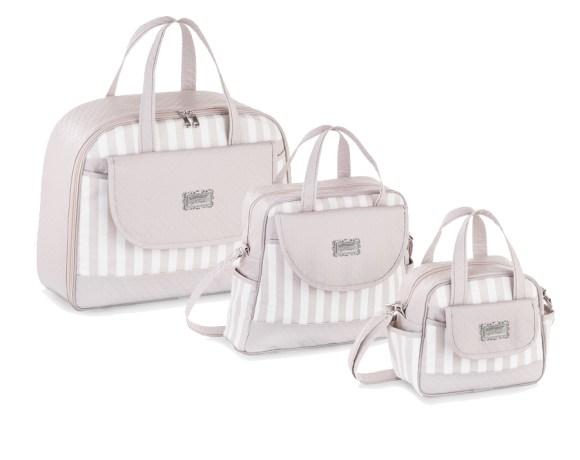 Kit Maternidade Flores Brancas com 3 Peças
