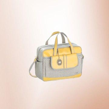 Bolsa Chevron Amarelo