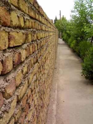 Como construir o muro?