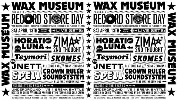 Record Store Day 2019 @ Wax Museum Records