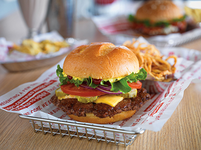 Smash Burger Restaurant Menu Burgers Fries Hand Spun Shakes Salads Chicken Meals