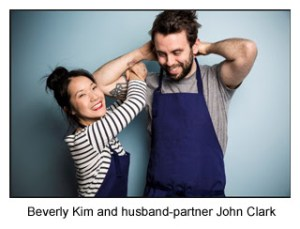 Beverly Kim and husband-partner John Clark