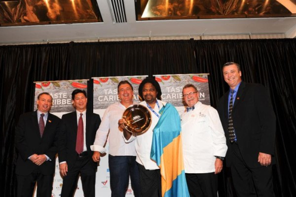 Caribbean Pastry Chef of the Year Sheldon Tracey Sweeting, Bahamas
