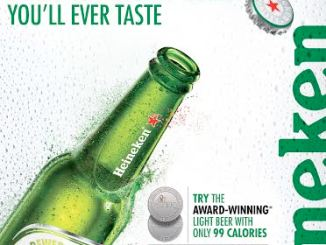 Heineken Light Award Winning Beer