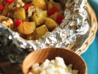Mediterranean Lemon Chicken and Potatoes