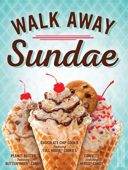 Walk Away Sundae