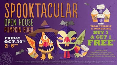 The coffee Bean Spooktacular