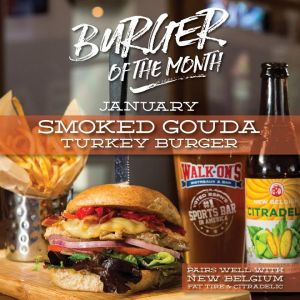 burger of the month Walk'ons