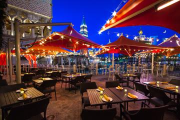 B&B Burger & Beer's Strip-side patio (Courtesy of Chris Wessling)