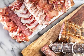 Charcuterie Platter at OTTO Enoteca e Pizzeria (Courtesy of B&B Hospitality Group)