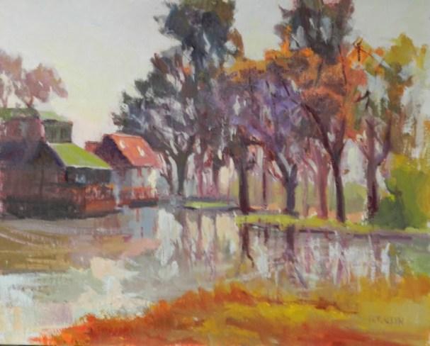 Dorallen Davis Plein Air painting