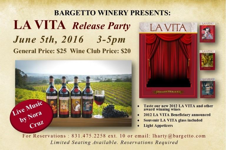 LA VITA Release Party