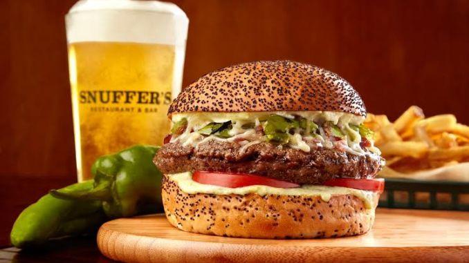 Hatch burger