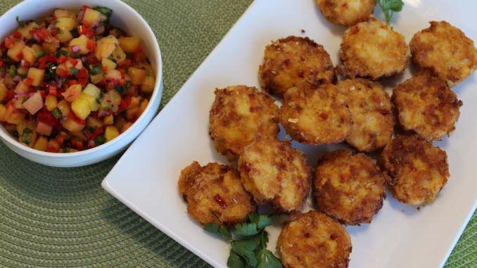 Dole -  Fish Cakes with Mango Salsa