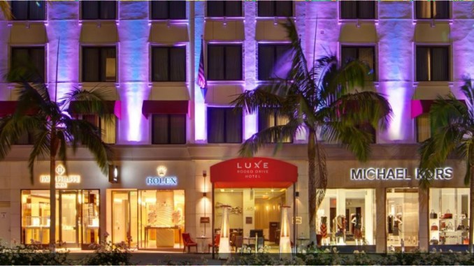 Courtesy Luxe Rodeo Drive Hotel