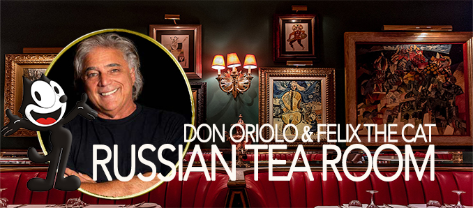 The Russian Tea Room Unveils Felix The Cat Portrait - Food