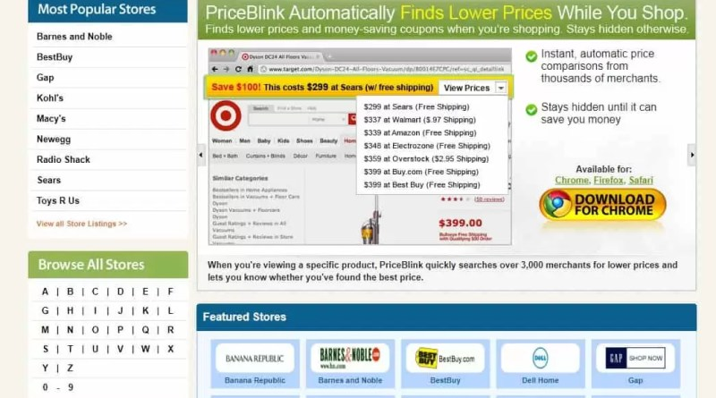 Price Blink