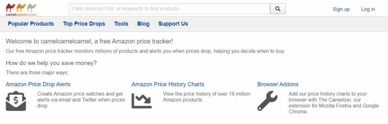view amazon price history
