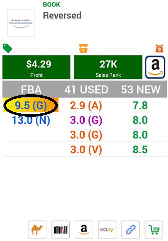 FBA seller over $7