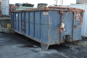 The time a thrift store employee locked me in their dumpster