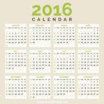 Calendar 2016 image