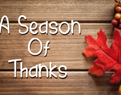 A Season of Thank - Psalm 136