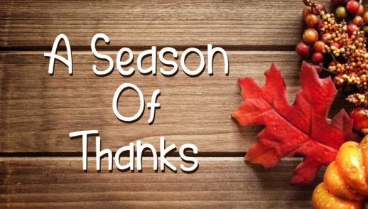 A Season of Thank - Psalm 136