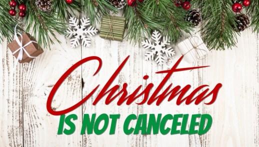 Christmas is Not Canceled Shepherds Luke 2:6-20