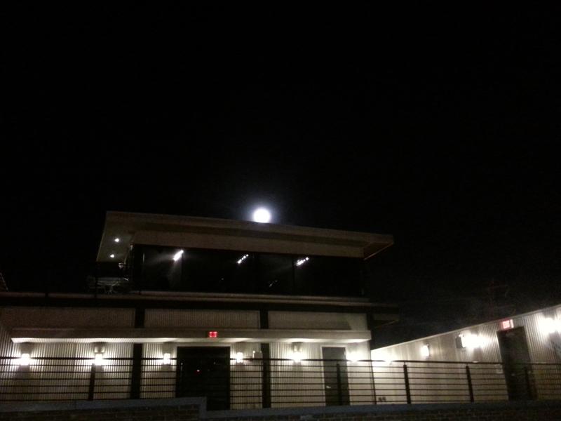 FBC 06 That moon peeks over the Rock Bottom building