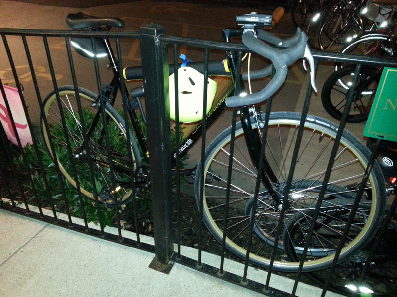 FBC 14 Dave's bike at Village Pub
