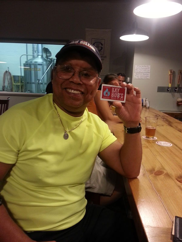 FBC 15 Bobby wins a gift card to Kay Bob's