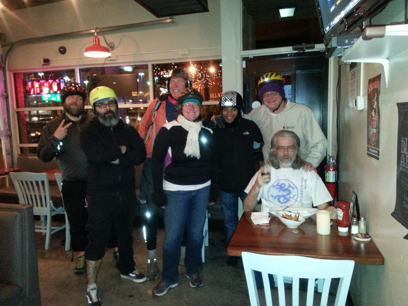 FBC 20 Riders and random guy at Kay Bob's