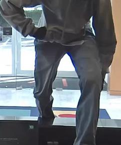 Weston, Florida Bank Robbery Suspect, Photo 2 of 6 (12/21/15)