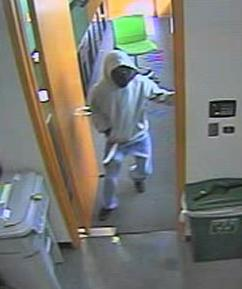 Weston, Florida Bank Robbery Suspect, Photo 3 of 6 (12/21/15)
