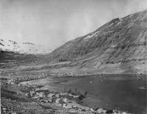 Seidisfjordur. apr 1944 convoy to Iceland