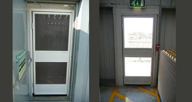 Two Way Swing Fly Screen Door Double Swing Fly Screen Door