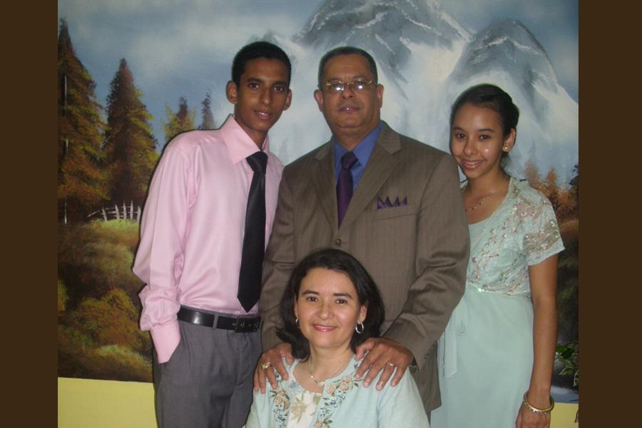 Missionary Andres Amoros Family